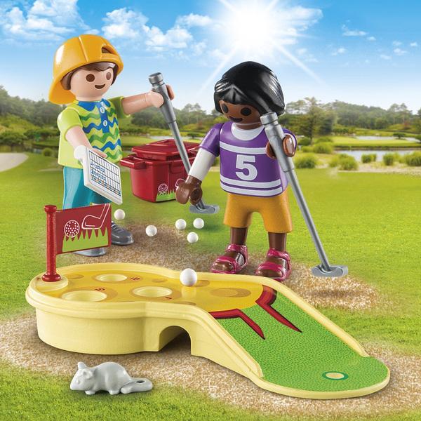 9439-Enfants et minigolf Playmobil Spécial Plus