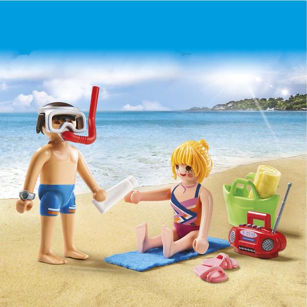 9449-Couple de vacanciers Playmobil