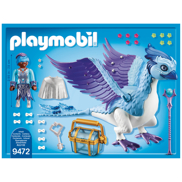 9472 - Gardienne et Phénix royal Playmobil Magic