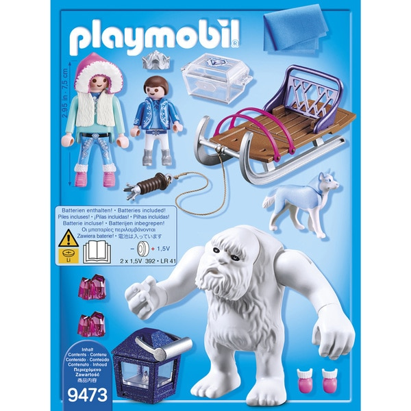 9473 - Yéti avec traineau Playmobil Magic