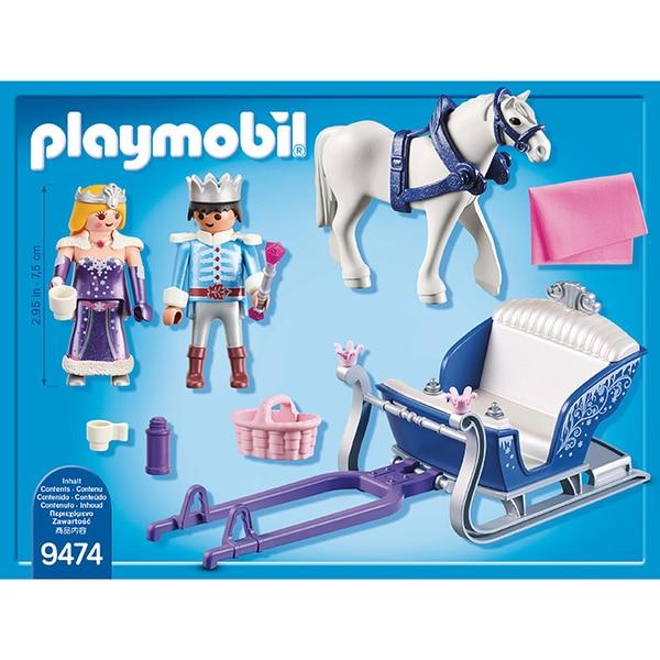9474-Couple royal et calèche Playmobil Magic