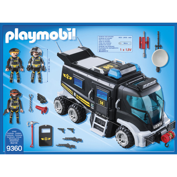 9360 - Playmobil City Action - Camion des policiers d