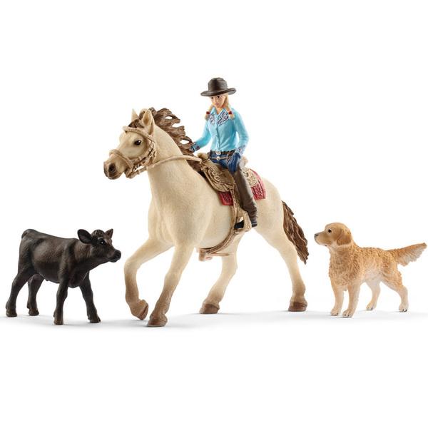 Coffret équitation western
