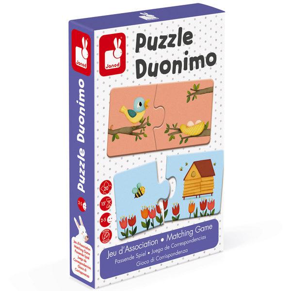 Jeu d'association - puzzle Duonimo
