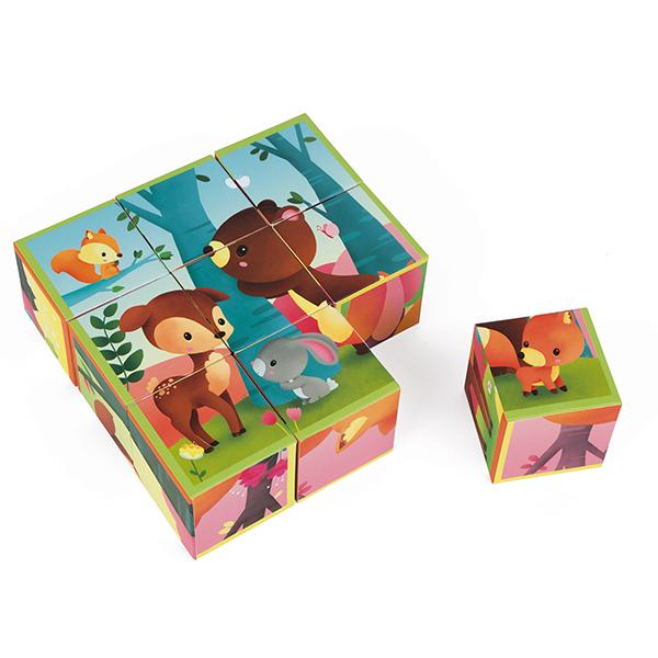 Puzzle Kubkid Les animaux de la forêt