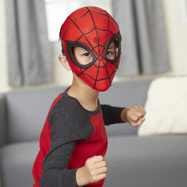 Masque électronique Spiderman