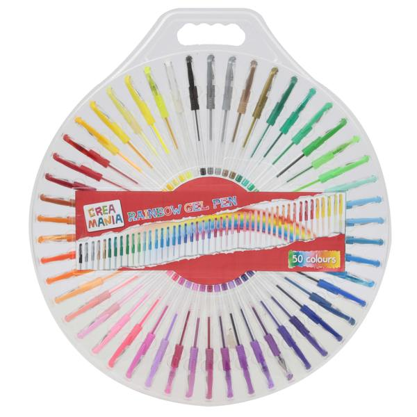 Coffret de 50 stylos gel