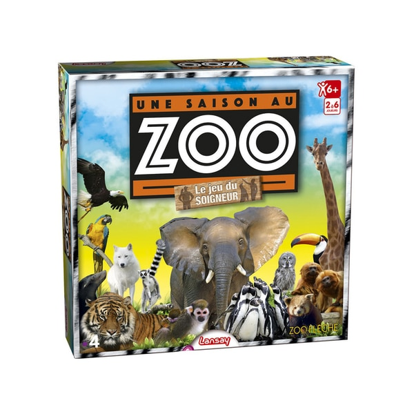 Jeu du soigneur une saison au zoo