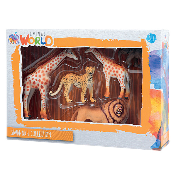 Coffret animaux sauvages