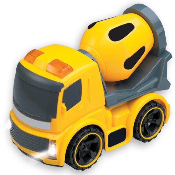 Mini camion de construction sonore et lumineux