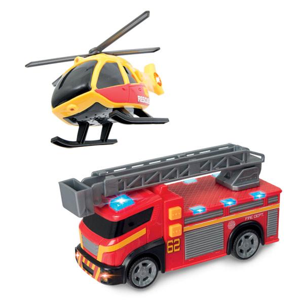 helicoptere voiture pompier bateau king jouet