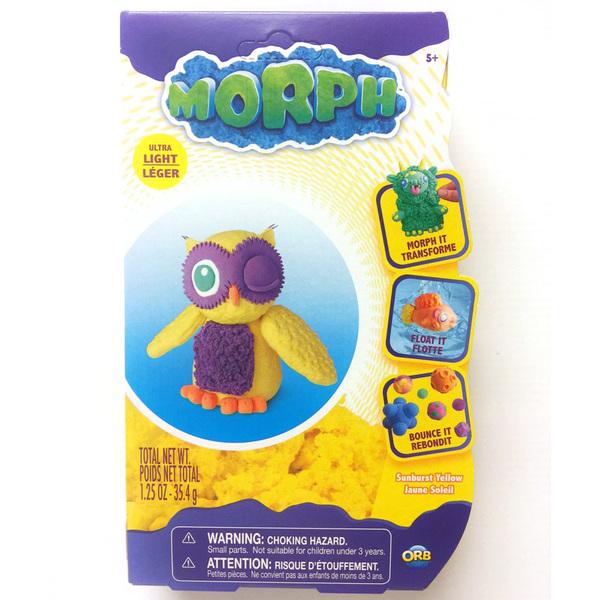Pâte à modeler Morph jaune 35 g