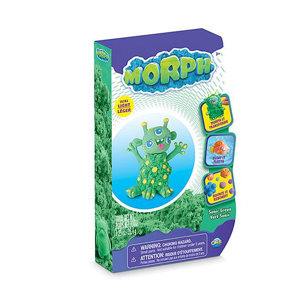 Pâte à modeler Morph vert sonic 35 g