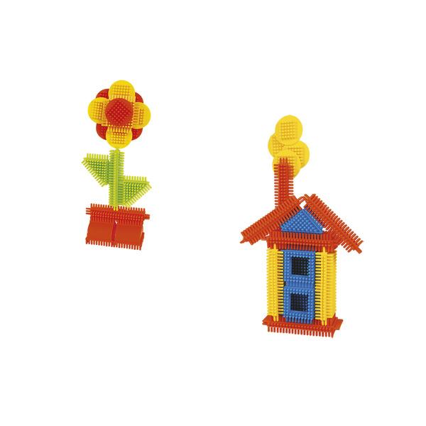 Tube 30 blocs de construction avec une figurine