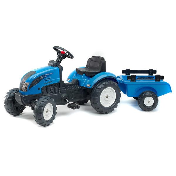 tracteur p dales landini avec remorque falk king jouet v hicules voitures p dales falk. Black Bedroom Furniture Sets. Home Design Ideas