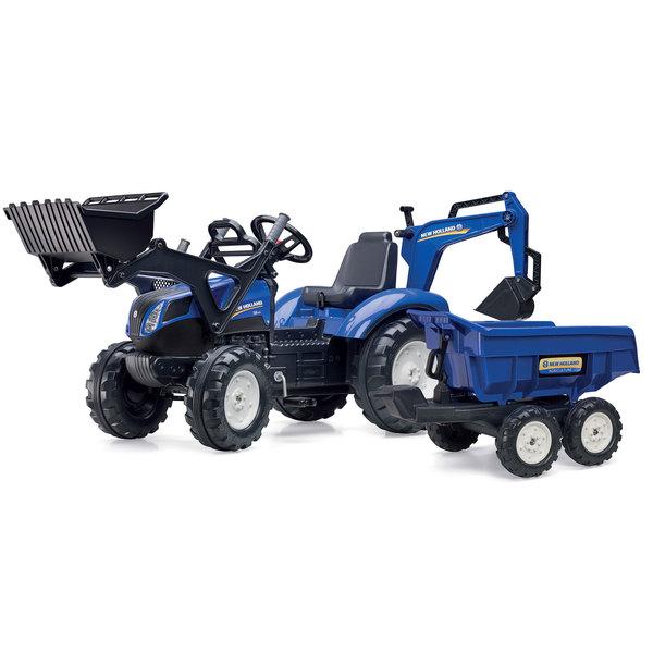 Et Avec Benne Maxi Tracteur Excavatrice Holland New MUzGpSqV