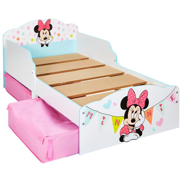 Lit enfant avec rangements Minnie Mouse