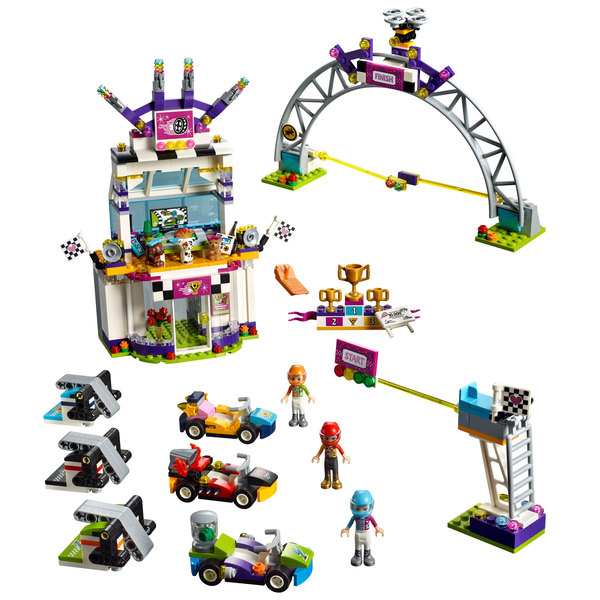 Lego® Jouet Grande Course 41352 La LegoKing Friends AjL54R
