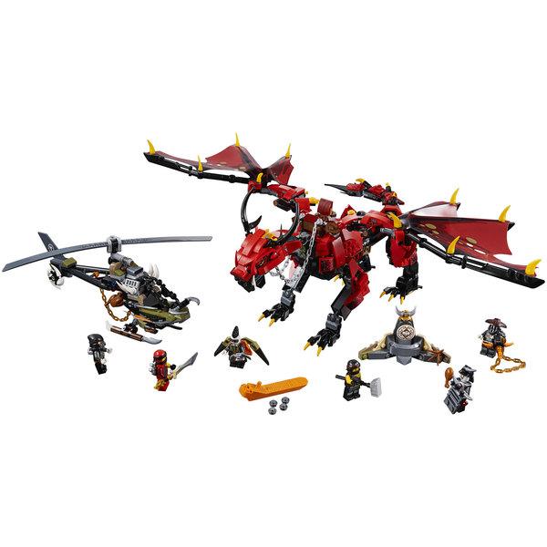 70653 lego ninjago le dragon firstbourne lego king jouet lego briques et blocs lego - Jeu de ninjago contre les serpents gratuit ...