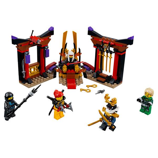 70651 - LEGO® NINJAGO - La confrontation dans la salle du trône