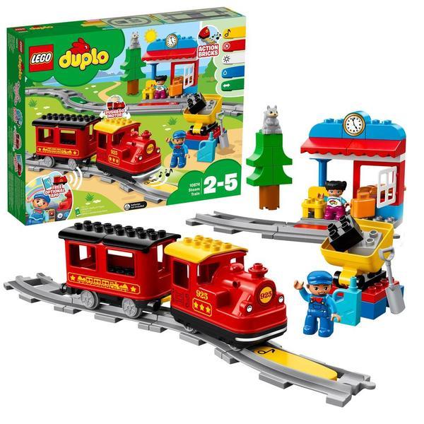 10874 - LEGO® DUPLO Le train à vapeur