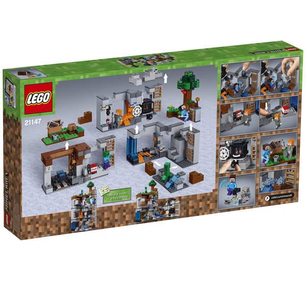 Aventures Minecraft 21147 Souterraines Lego® 92IeYWDEH