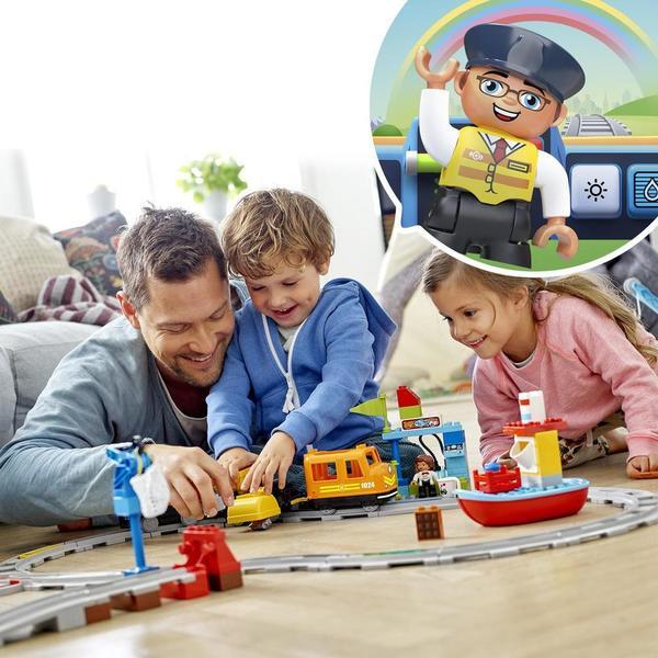 10875 - LEGO® DUPLO Le train de marchandises