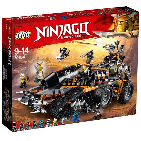 70654 lego ninjago le v hicule de combat dieselnaut lego king jouet lego briques et - Jeu de ninjago contre les serpents gratuit ...