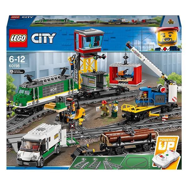 60198 lego le train de marchandises t l command lego. Black Bedroom Furniture Sets. Home Design Ideas