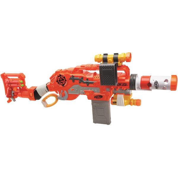 873a4585c18b46 Nerf-Pistolet Zombie Strike Scravenger Nerf : King Jouet, Jeux de ...