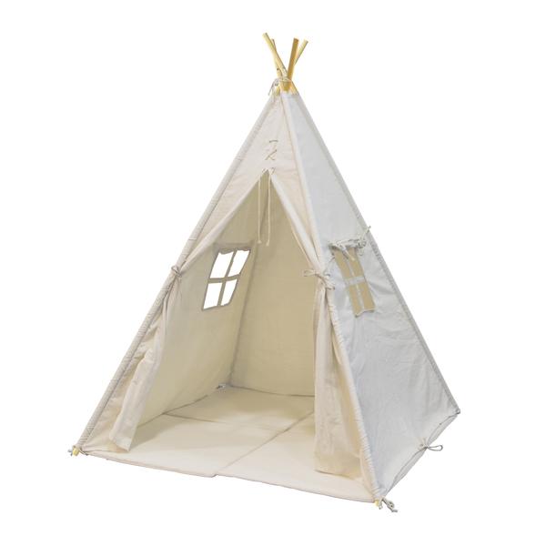 Tente tipi alba sunny king jouet maisons tentes et for Tente tipi exterieur