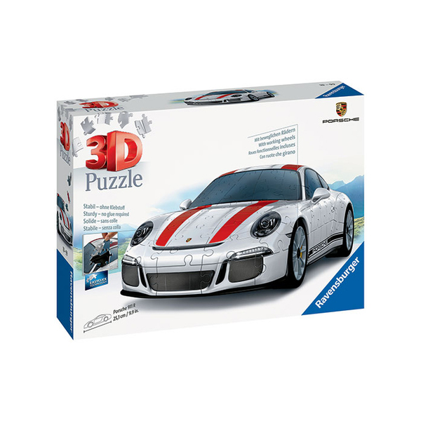 puzzle 3d porsche 911 108 pi ces ravensburger king jouet. Black Bedroom Furniture Sets. Home Design Ideas