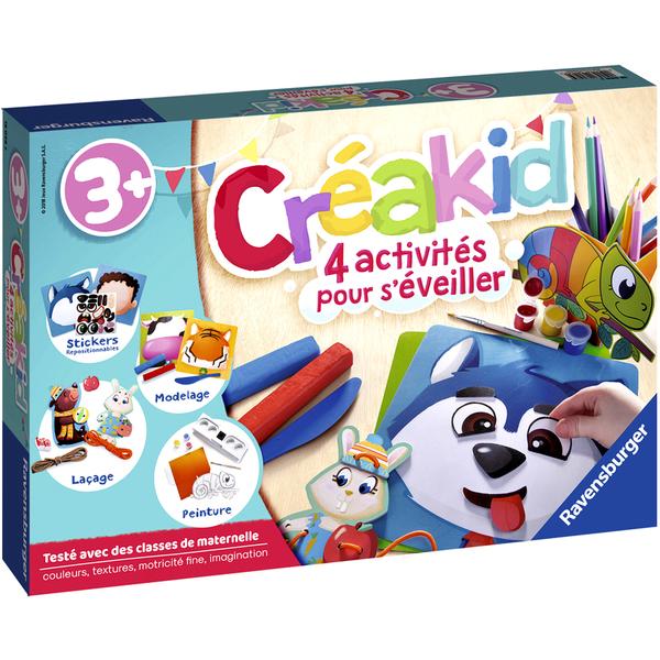 Créakid-Coffret d'éveil multi-activités