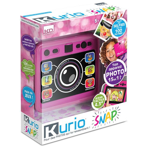 Kurio Snap Appareil Photos et Selfies - Rose