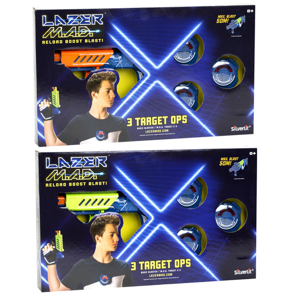Jeu Laser Game  - Lazer M.A.D - 3 Target Ops