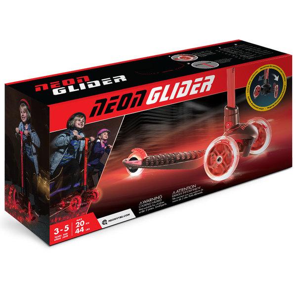 Patinette Neon Glider rouge
