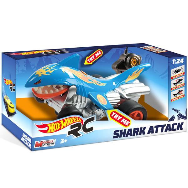 Voiture radiocommandée Hot Wheels Shark Attack