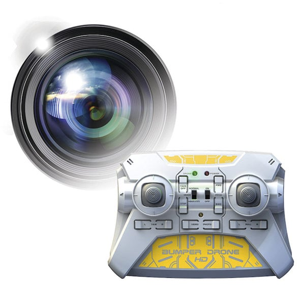 BUMPER DRONE avec caméra HD