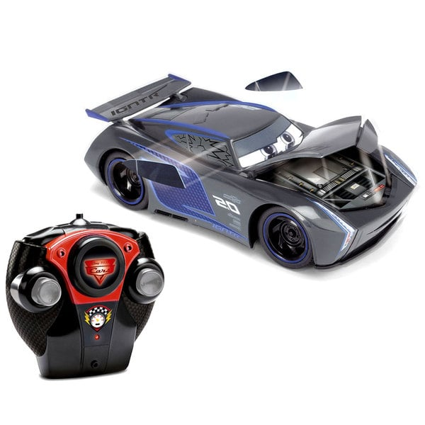 cars 3 voiture radiocommand e crash jackson storm majorette king jouet v hicules circuits et. Black Bedroom Furniture Sets. Home Design Ideas