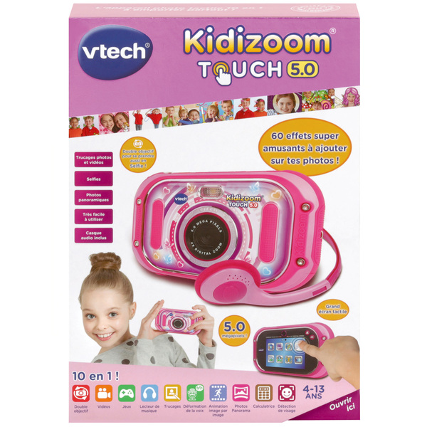 Appareil photo Kidizoom Touch 5.0 rose