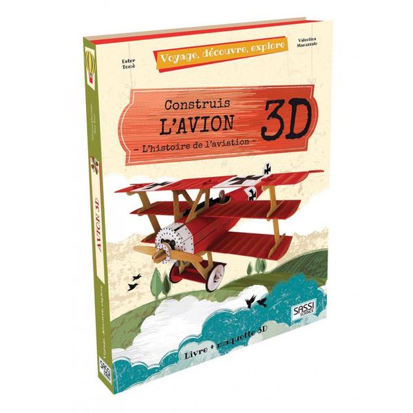 L'Avion 3D - Voyage, découvre, explore