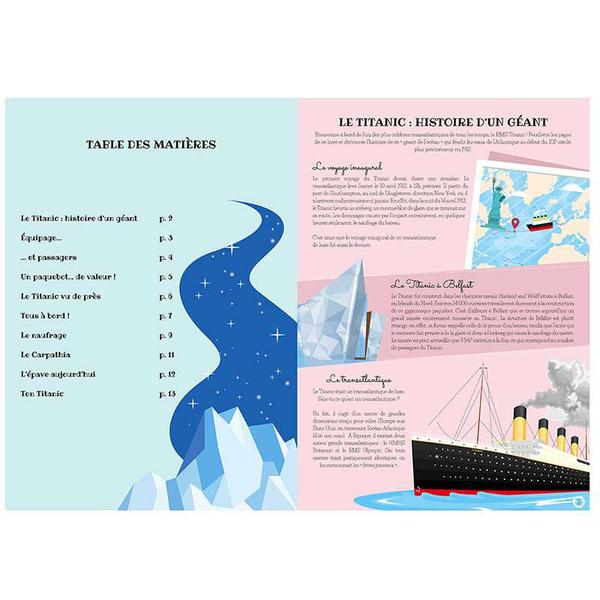 Le Titanic 3D - Voyage, découvre, explore