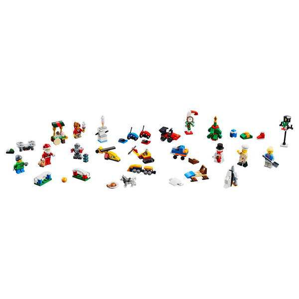 60201 - LEGO® City Calendrier de l
