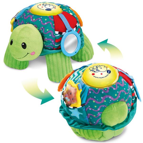 Peluche interactive Cache-cache tortue