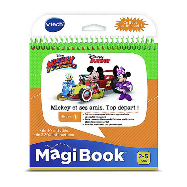 Magibook - Mickey et ses amis Top départ - Disney