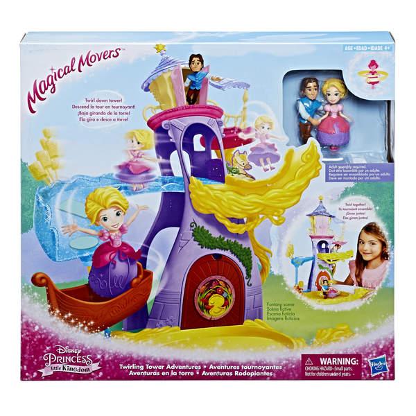 Mini poupée Raiponce Aventure tournoyante - Disney Princesses