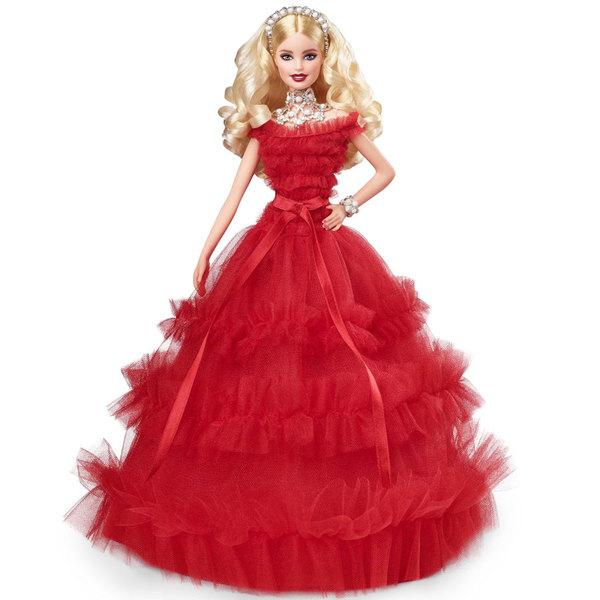 barbie de noel 2018 king jouet Barbie Poupée Noël 30 ème anniversaire Mattel : King Jouet  barbie de noel 2018 king jouet