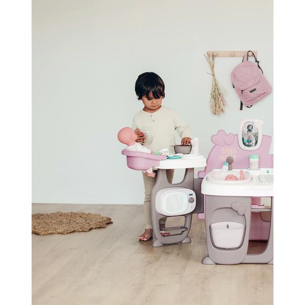 Grande maison des bébés Baby Nurse Smoby   King Jouet, Poupons, bébés Smoby  - Poupées   peluches 401ad8c873d