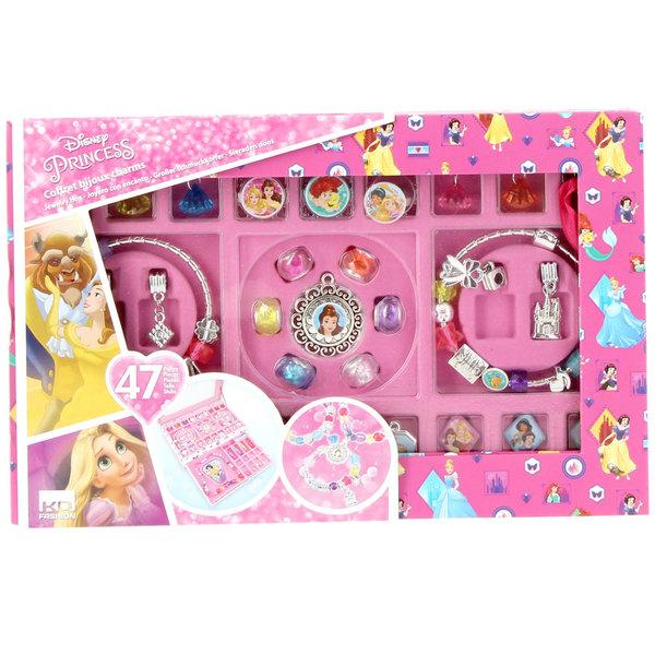 Disney Princesses,Coffret bijoux Charms Taldec  King Jouet, Mode, bijoux,  décoration, cosmétiques Taldec , Jeux créatifs