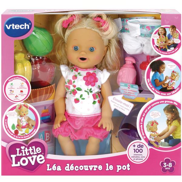 Poupée Léa découvre le pot - Little Love